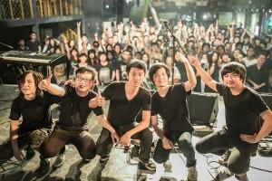 SFA live at Beijing,2015.Foto by Nan Yi