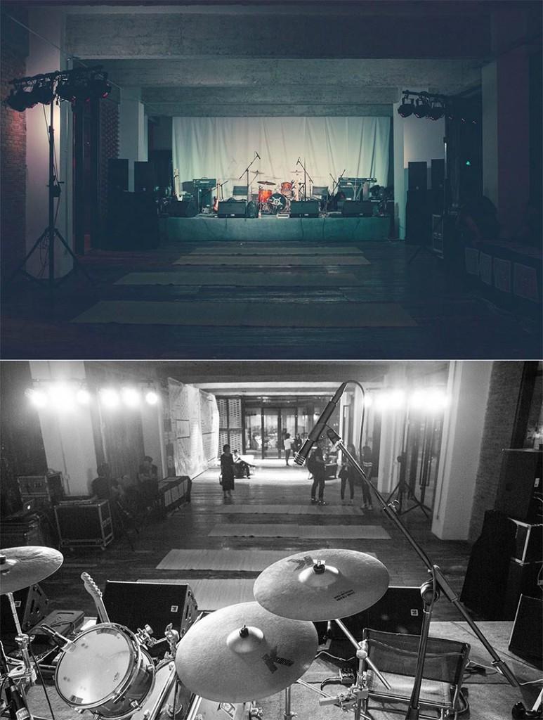 演出开始前的盲堂(摄影:张炎)